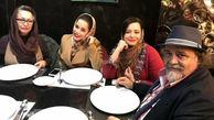 راز طلاق شریفی نیا از همسرش در مهمانی دخترانشان لو رفت! + عکس