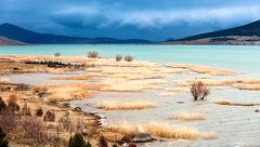 دریاچه ابر ترکیه خشک شد