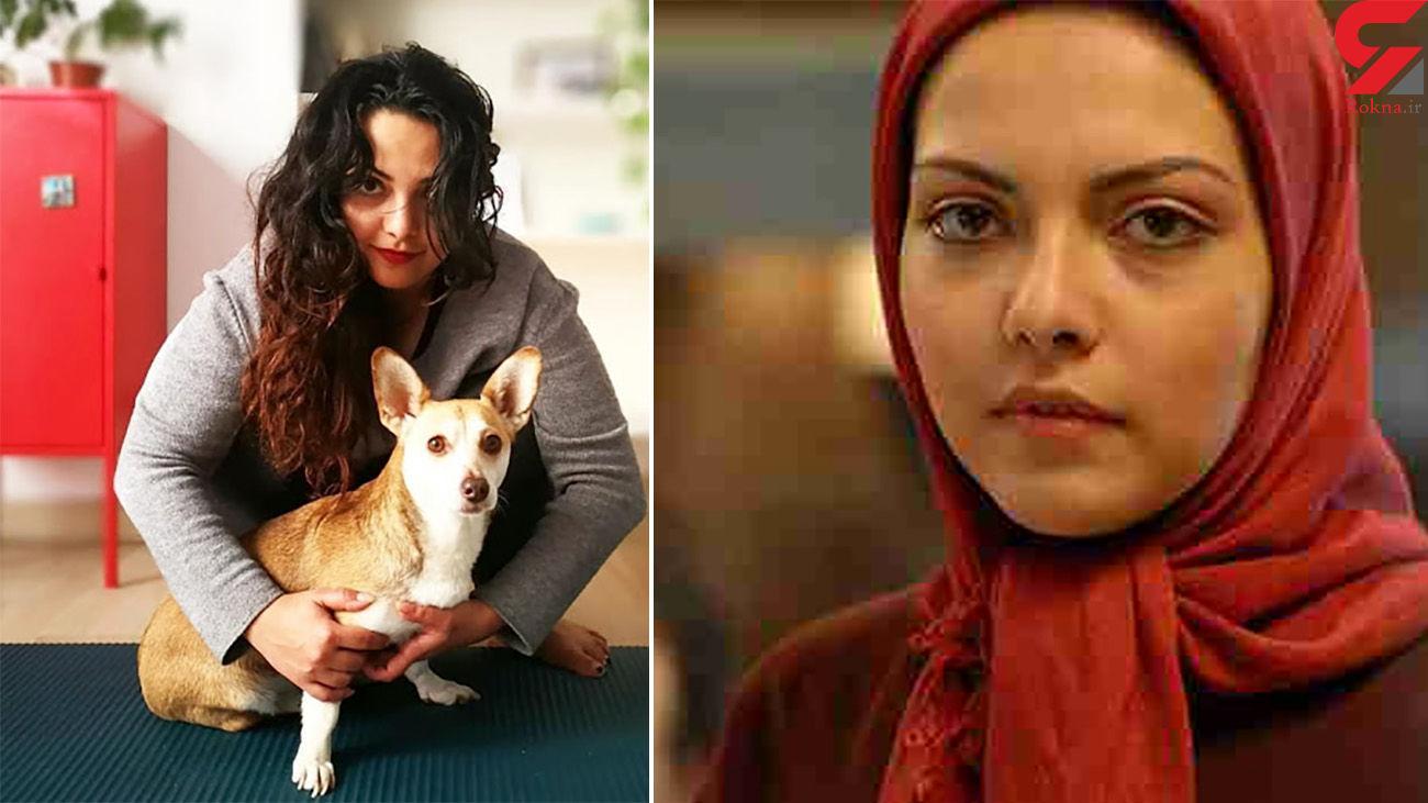 خانم بازیگر ایرانی کشف حجاب کرد + عکس