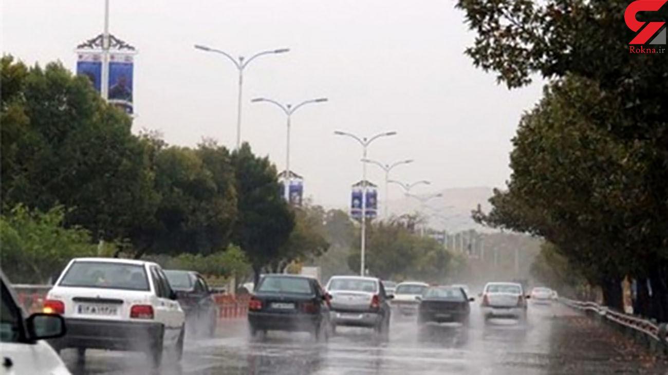 بارش باران و برف در 14 استان کشور