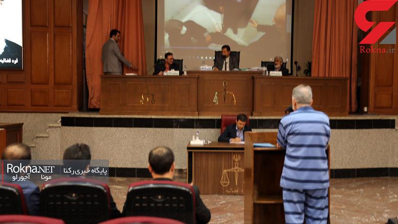 انتشار اولین عکس ها از بازسازی صحنه قتل میترا استاد داخل وان! / در دادگاه نجفی صورت گرفت