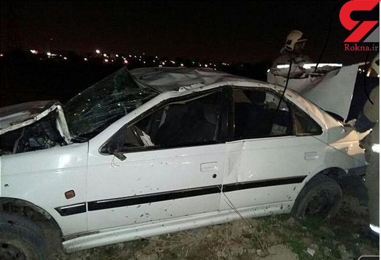 8 مصدوم در تصادف 2 پژو در مشهد