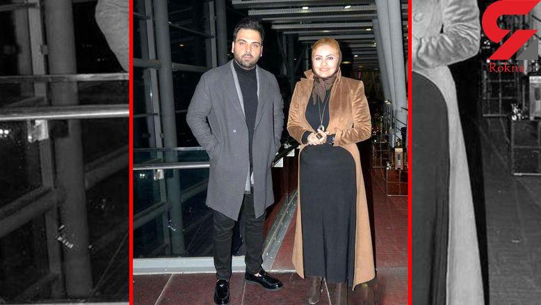 مراسم ازدواج احسان علیخانی و همسرش + عکس