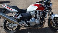 کشف موتورسیکلت 250 سیسی قاچاق در مرودشت