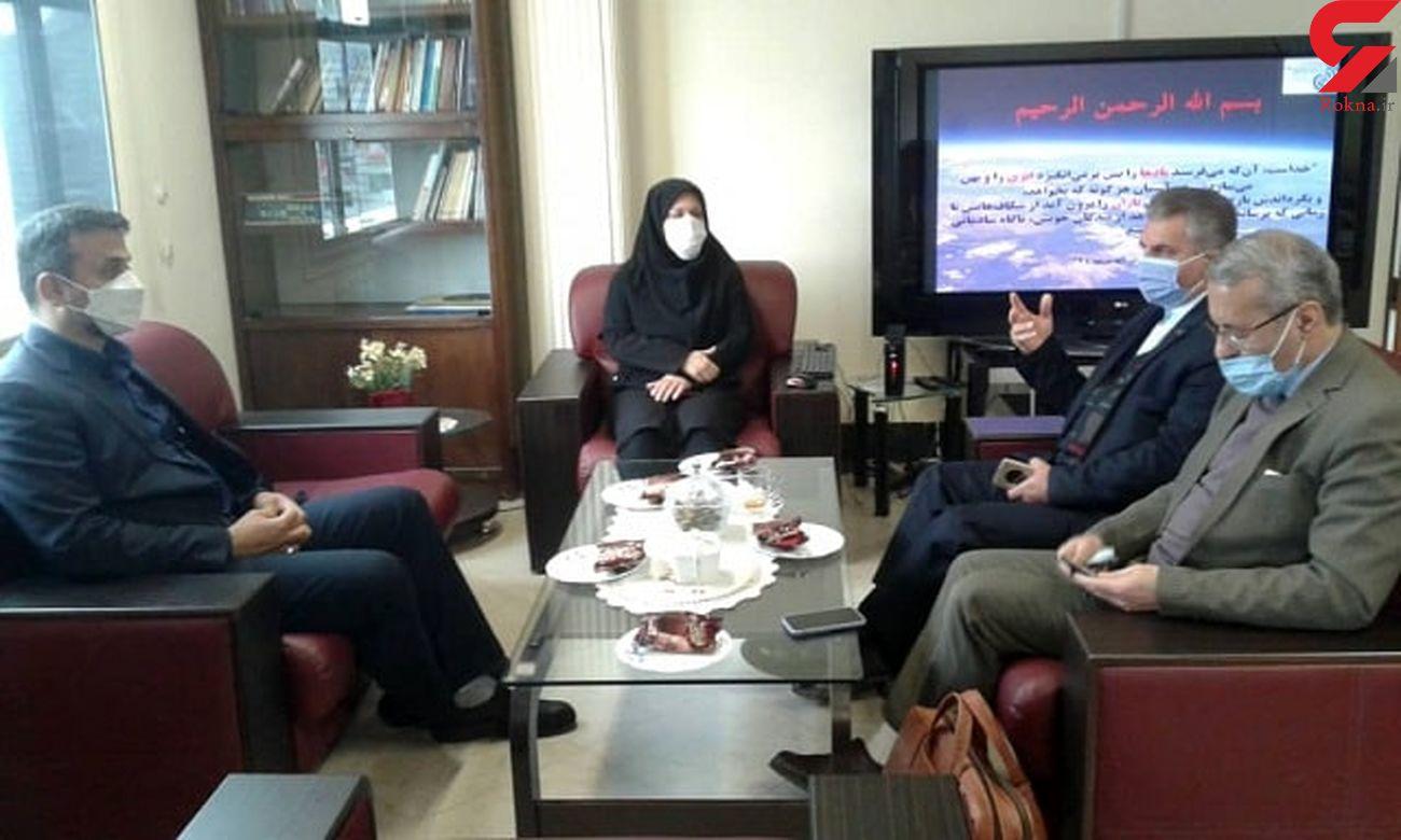 جلسه مدیر کل هواشناسی استان گیلان با نماینده مردم تالش، رضوانشهر و ماسال