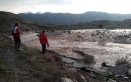 نجات جان 6 خانواده عشایر گرفتار در سیلاب کرمانشاه