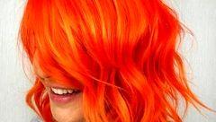 رنگ مو نارنجی از پرتقالی تا مسی برای چه پوست هایی است؟