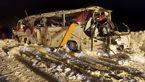 واژگونی مرگبار اتوبوس در جاده کرج _ چالوس + عکس و جزئیات