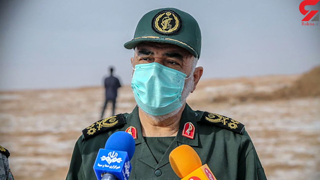 فعالیت سپاه در مناطق مرزی فقط به تامین امنیت مرزها محدود نمیشود