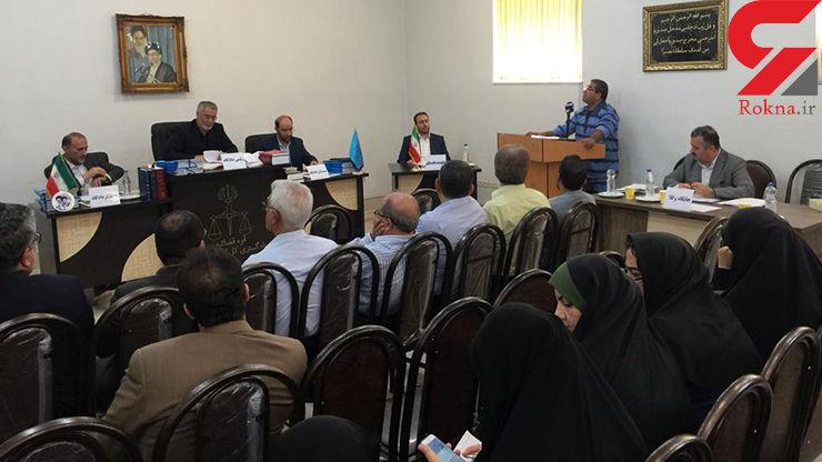نصیر کاظمی پزشک محتکر دارو محاکمه شد + عکس