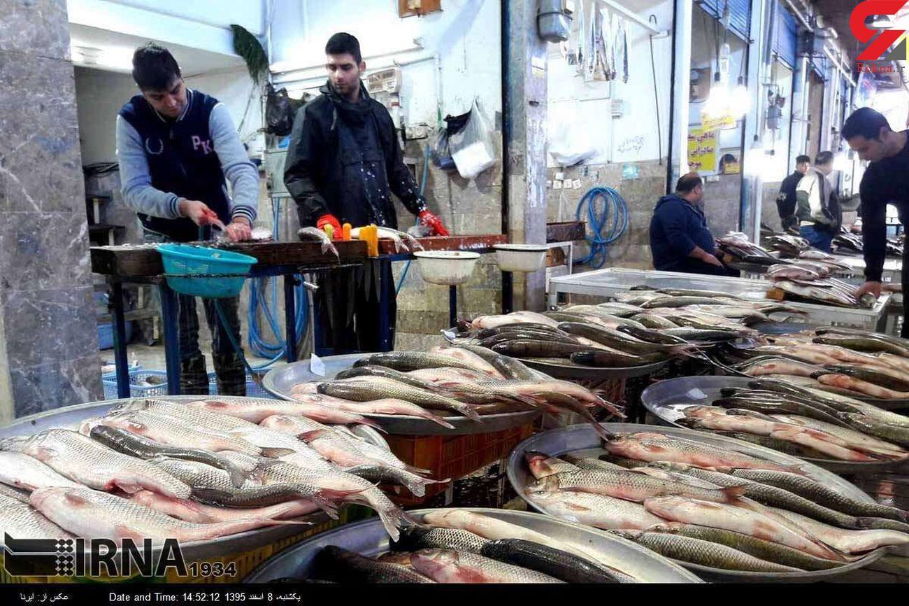 قیمت ماهی و قیمت میگو در بازار یکشنبه 9 آذر 99 + جدول