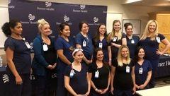 حامله شدن همزمان 16 پرستار یک بیمارستان ! + عکس