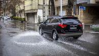 هشدار به راننده های تهران / مراقب سطوح لغزنده باشید