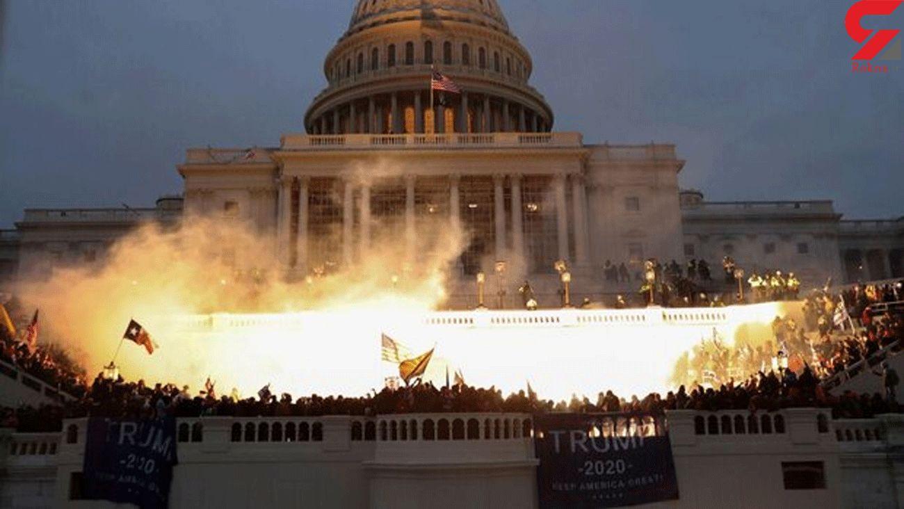 Biden blames Trump for riots in Washington