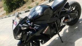 موتورسیکلت سنگین قاچاق در داراب توقیف شد