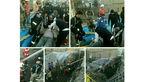 اولین عکس از بیرون آوردن 2 جوان از زیر آوار میدان شکوفه
