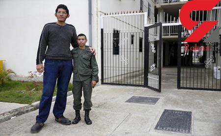 پاگنده ترین انسان دنیا در ونزوئلا زندگی می کند+عکس