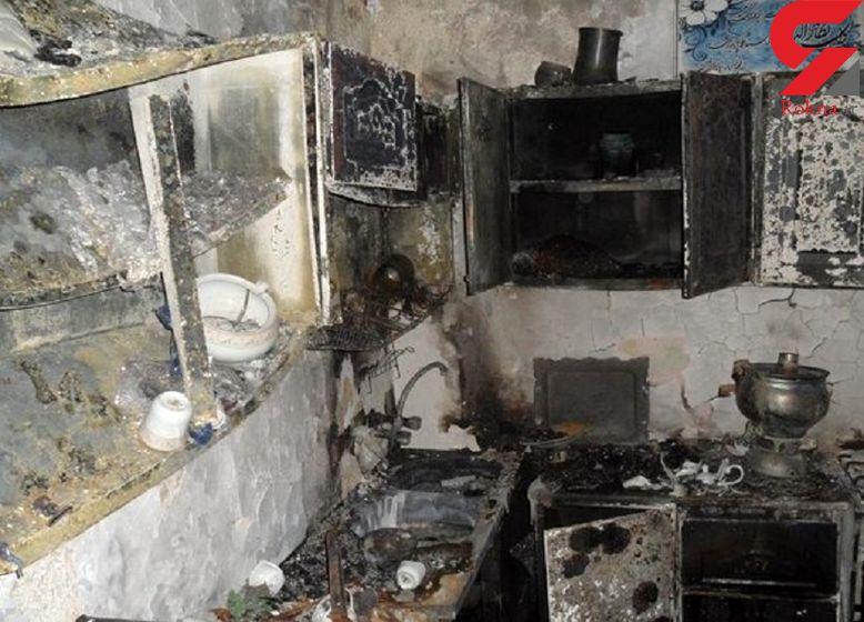 انفجار مرگبار منزل مسکونی در شیروان+ عکس