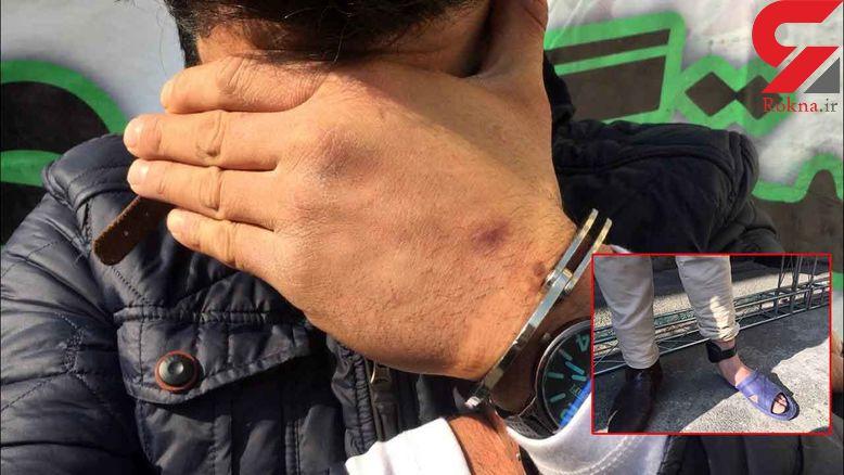 فرهاد با پابند الکترونیکی زندان هم به سرقت می رفت! / پلیس تهران فاش کرد  + فیلم و عکس باورنکردنی