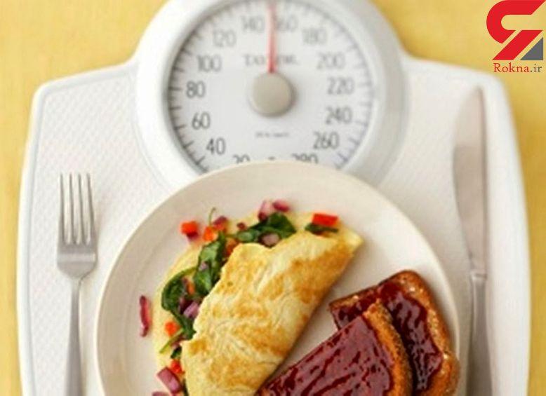تاثیر صبحانه در چاقی و لاغری