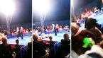 حمله خرس سیرک به تماشاچیان +فیلم
