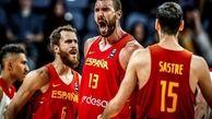 جام جهانی بسکتبال / اسپانیا به فینال رسید