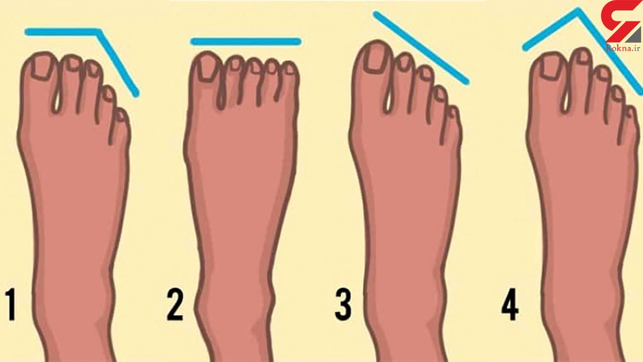 شناسایی اجداد از روی شکل کف پا