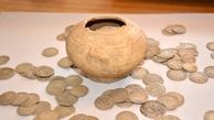 727 قطعه سکه دوران اشکانیان در لامرد کشف شد