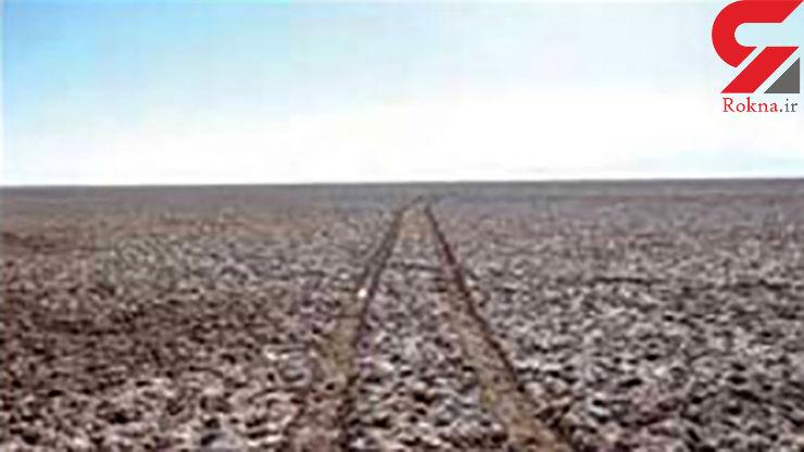 50 درصد اراضی آبی کشور «شور» شده است