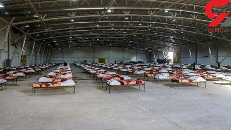 فیلم افتتاح نقاهتگاه ۲۰۰۰ تختخوابی شهید دکتر هجرتی نیروی زمینی ارتش در تهران