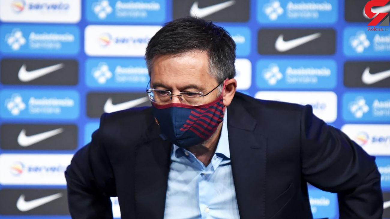 رئیس بارسلونا به جرم فساد مالی بازداشت شد + عکس