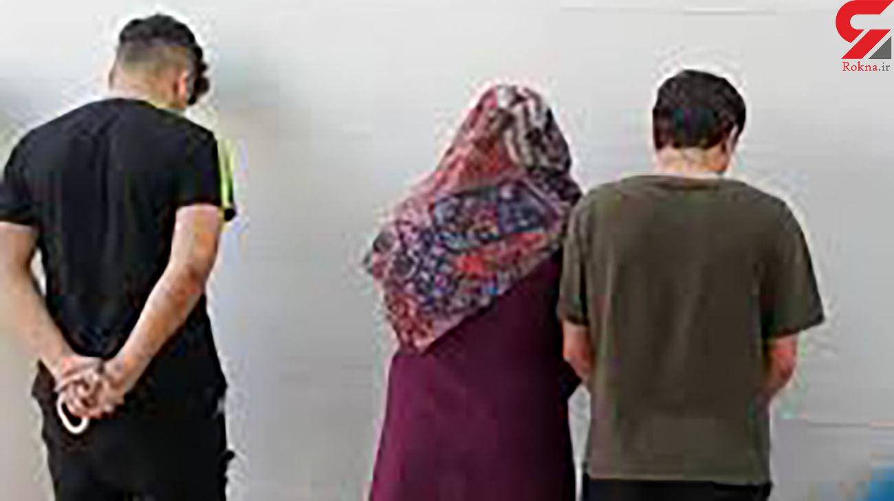بازداشت زن جوان که 2 مرد را اجیر کرده بود / امینوک پلیس مشهد را زخمی کرد