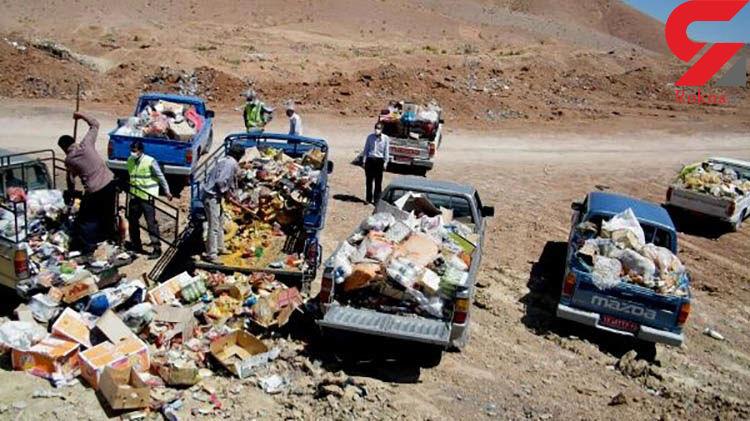 قلع و قمع یک و نیم تن مواد غذایی تاریخ گذشته در فاریاب