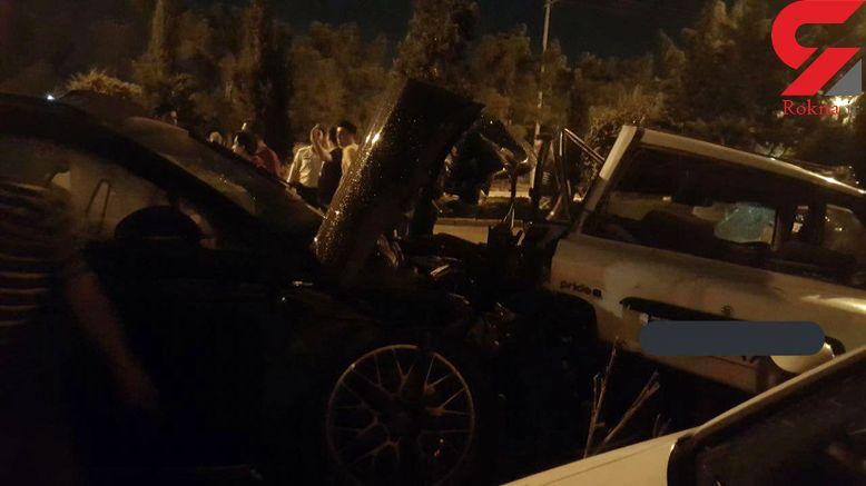 بازداشت راننده فراری  پورشه لاکچری در اصفهان / در کورس خیابانی یک بی گناه کشته شد+ فیلم