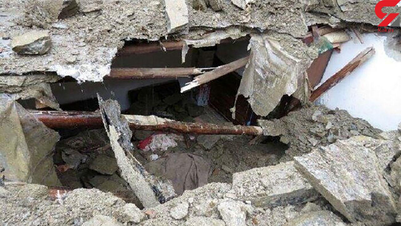 جوان اصفهانی زیر آوار ساختمان زنده زنده دفن شد
