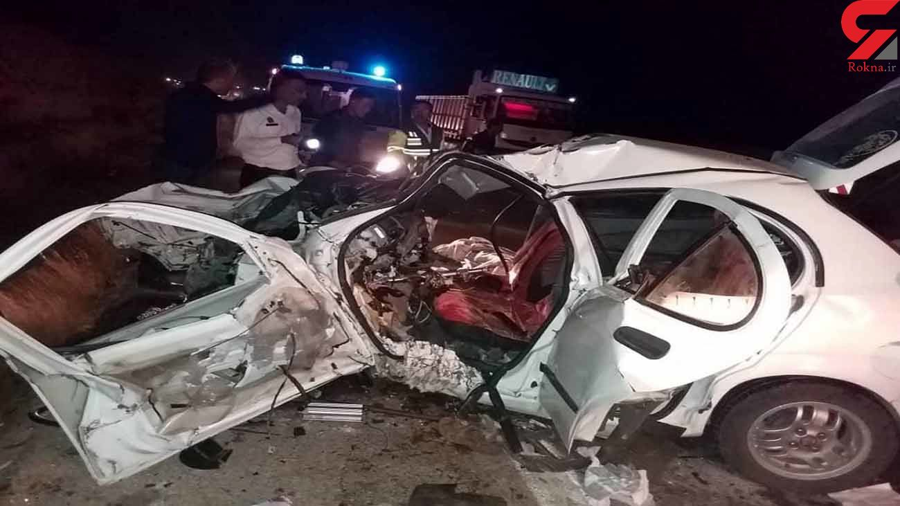فیلم های وحشتناک از تصادفات دی ماه اصفهان