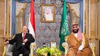 دیدار دروغین بن سلمان با رئیس دولت مستعفی یمن / تلاش برای مانور زنده بودن بن سلمان + عکس