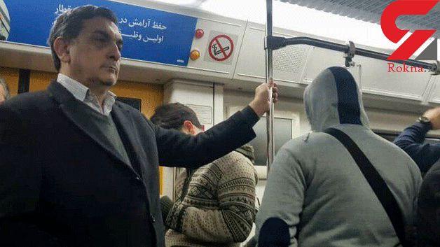 حناچی با مترو و تاکسی بر سر کارش حاضر شد