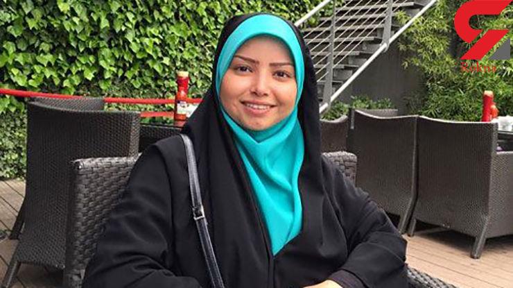 خانم مجری در کنار جهانگرد معاصر ایرانی + عکس
