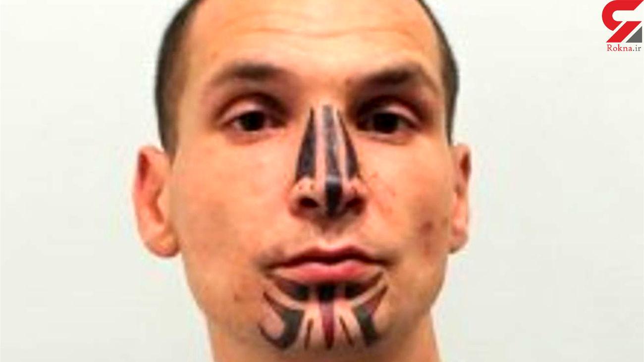 قتل جوان 34 ساله توسط مرد خالکوبی دار / پلیس ردش را زد + عکس / بریتانیا