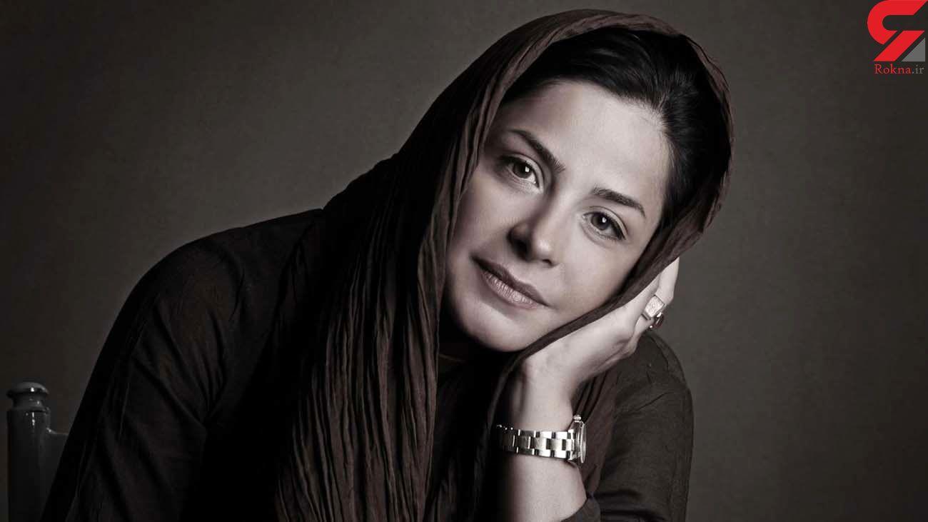 گریه های خانم بازیگر سرشناس ایرانی در برنامه تلویزیونی + فیلم