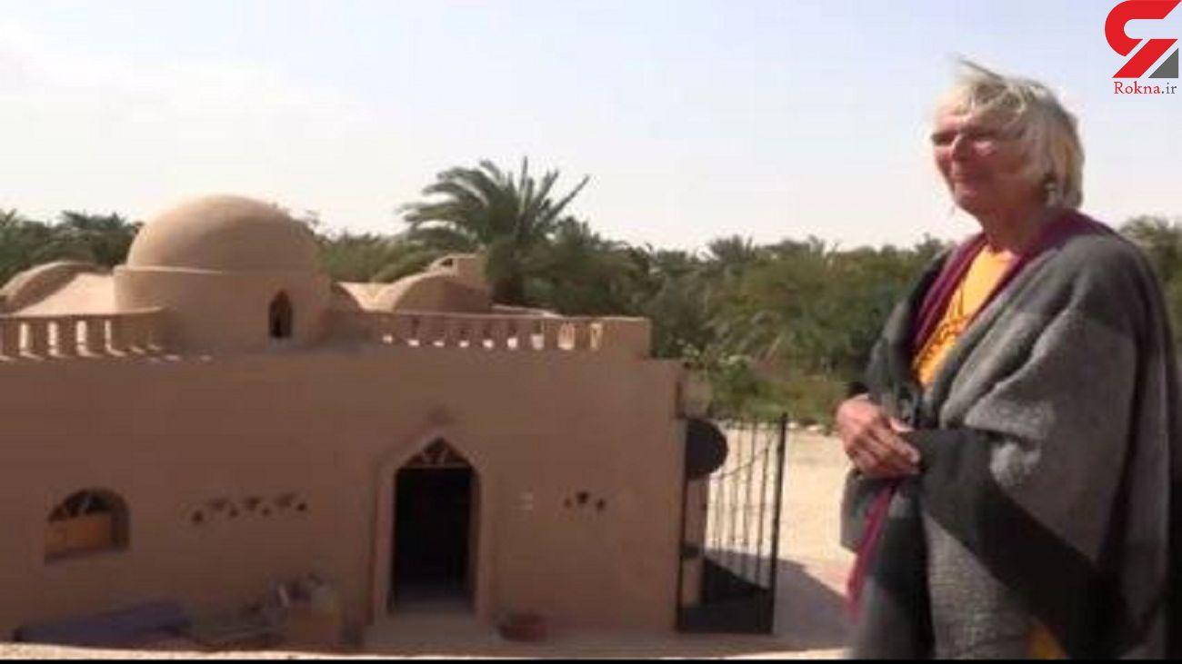 سبک جالب زندگی یک زن آلمانی در صحرای مصر + فیلم