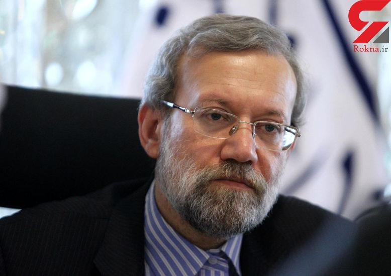 لاریجانی: مجلس با همه وجود در مقابل اقدامات آمریکا خواهد ایستاد