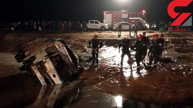 سیل در اردن جان ۷ تن را گرفت