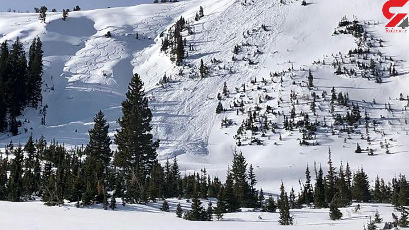 مرگ دلخراش 4 اسکی باز در ریزش بهمن / علت حادثه چه بود ؟ + جزئیات