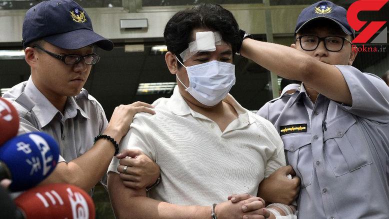 تصاویر و جزئیات حمله یک سامورایی به دفتر ریاست جمهوری تایوان