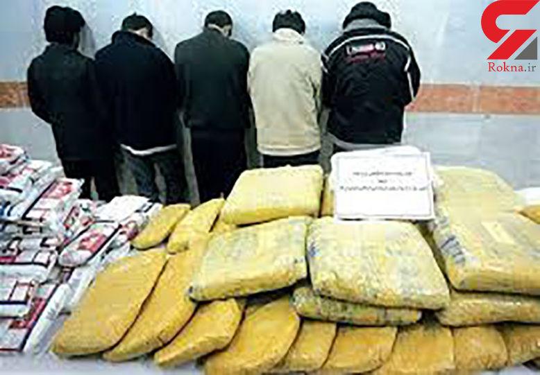 دستگیری خرده فروشان مخدر در میدان امام حسین
