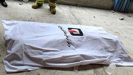 مرگ عابر پیاده در قزوین