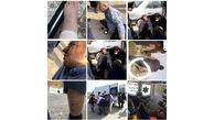 کتک خوردن پلیس ساختمان در رباط کریم + عکس تلخ