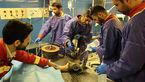 دست شاگرد کبابی در چرخ گوشت+عکس